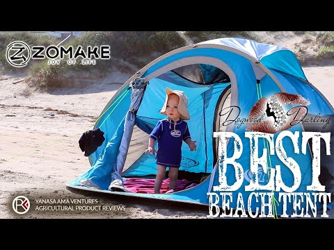 quality design 32f2a 0c845 Best Beach Tent - Super Easy Pop Up - YouTube