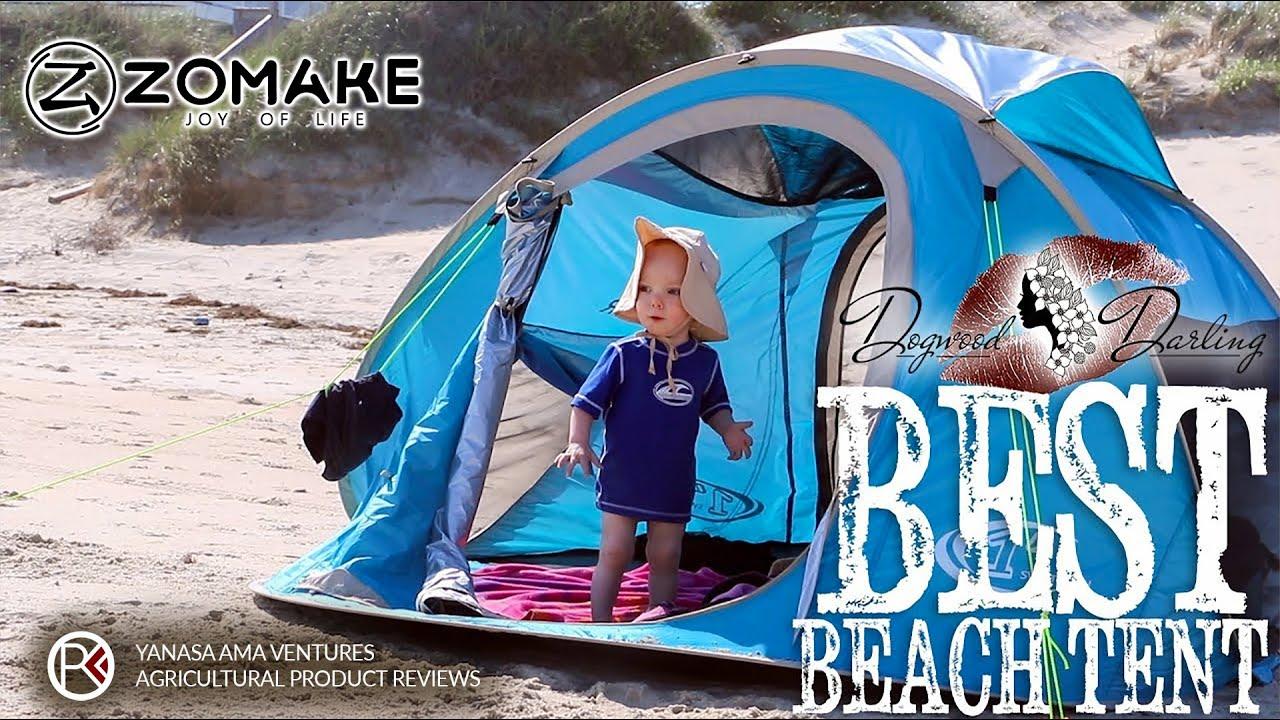 Best Beach Tent Super Easy Pop Up Youtube