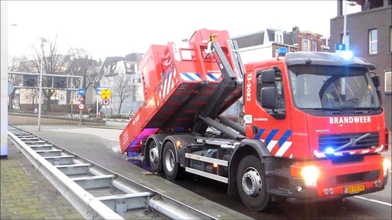 Zeer Grote Brand Parkeergarage Markenhoven Amsterdam Grip