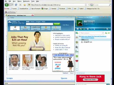 Chat With Friends And Family With Windows Live Messenger