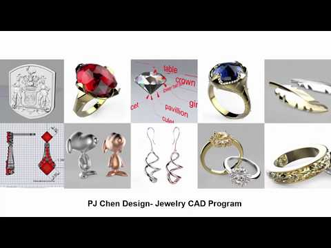 Welcome to PJ Chen Design- Jewelry CAD Program
