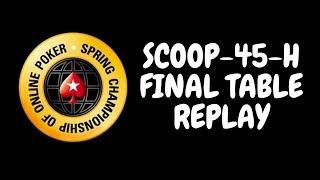 SCOOP 2018   $2,100 NLHE [Progressive KO, Thursday Thrill] Event 45-H
