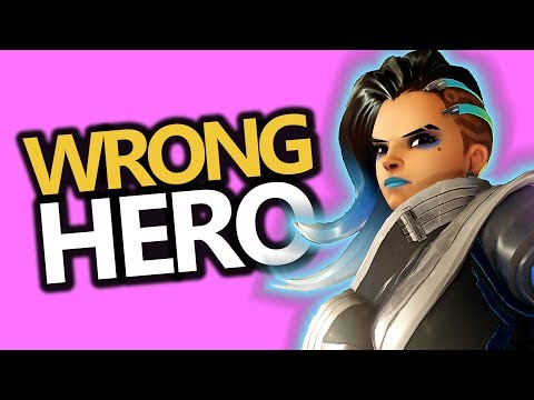 Banned For Playing The WRONG HERO?! (Overwatch)