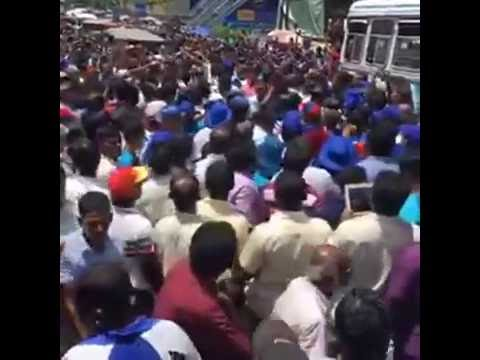 Mahinda Rajapaksa Join Pada Yathra  Kandy to Colombo