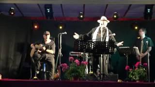 Alain Michel Sergio chant St Laurent de Ceris juil 2016 La valse lente musette