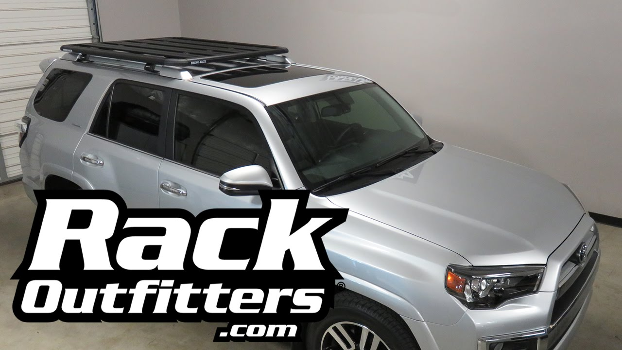 Toyota 4 Runner Rhino Rack Sx Pioneer Tray Roof Rack