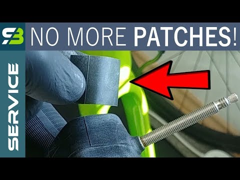 How To Fix Inner Tube With Another Bicycle Tube. How To Make a Patch. Step - By - Step Tutorial.