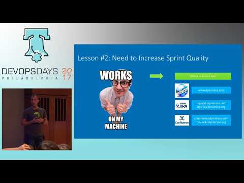 DevOpsDays Philly 2017 - From 6 Month Waterfall To 1h Code Deploys by Andreas Grabner