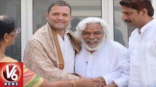 Revolutionary Singer Gaddar Couple Meets Rahul And Sonia Gandhi, De...