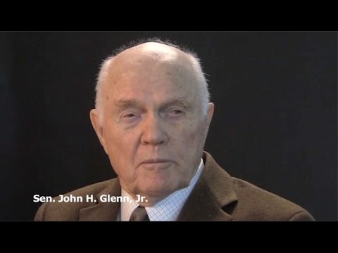 Watch John Glenn recall historic orbit in 2012 Plain Dealer interview (video)