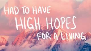 High Hopes - Panic! At The Disco Lyrics (handwritten!)