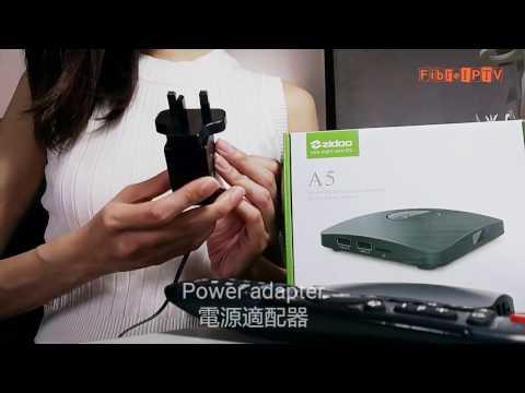 Unboxing Of Zidoo A5 Smart TV Box