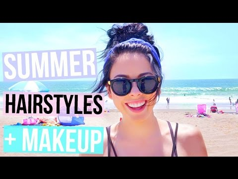 I DYED MY HAIR! + QUICK Summer Hairstyle And Makeup! Nikki Phillippi