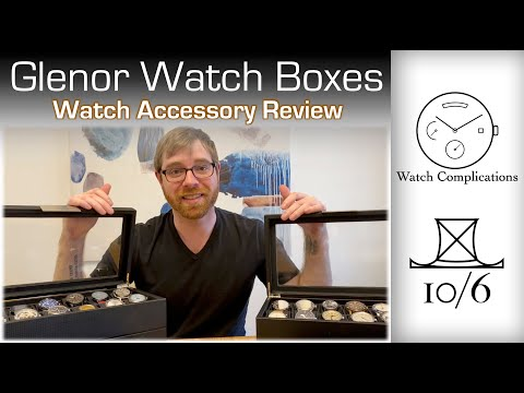 Glenor Co Watch Boxes