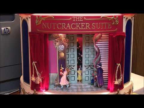 Repair Mr  Christmas the Nutcracker Suite Music Box replace motor drive belt