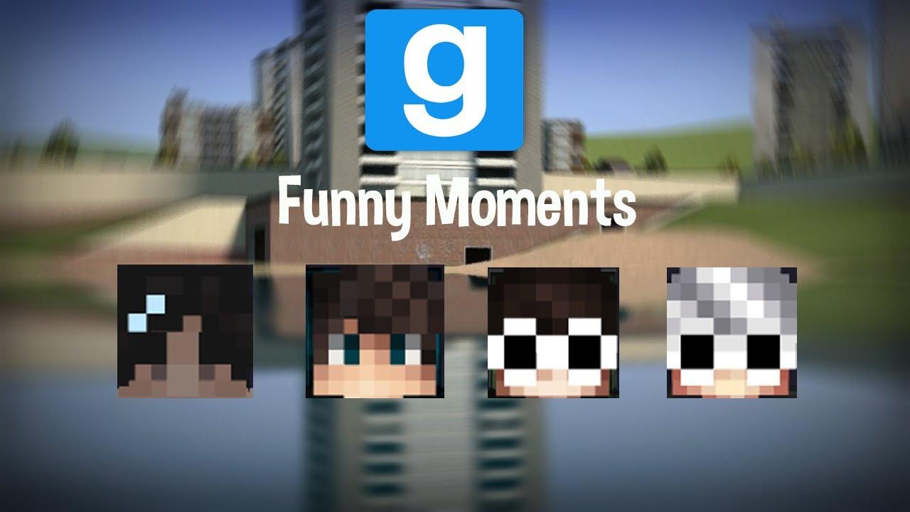 Minecraft Players Play Gmod (Part 1)