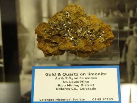 Gold and silver in nature, the Geology Museum of the Colorado School of Mines