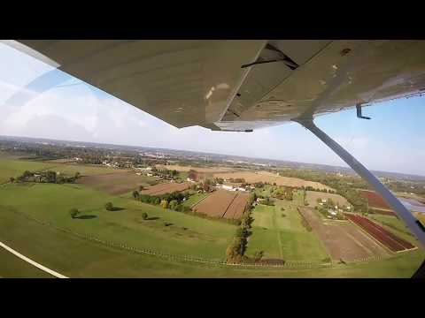 Cessna 172SP with G1000 takeoff from Bergerac Airport LFBE