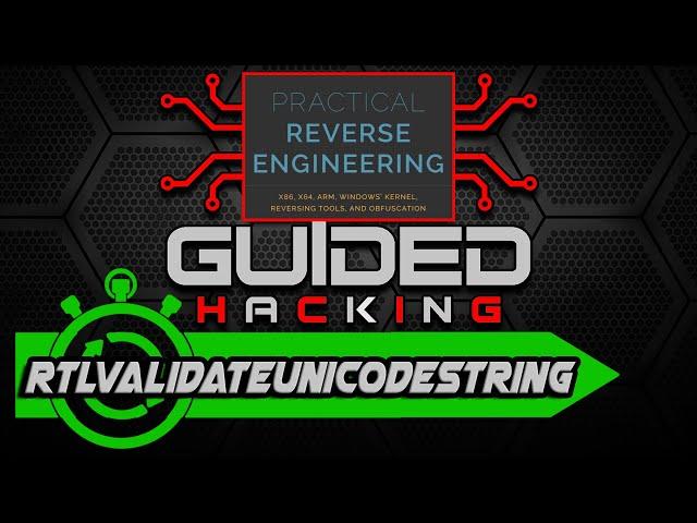 Practical Reverse Engineering RtlValidateUnicodeString Pg 35 Exercise 5