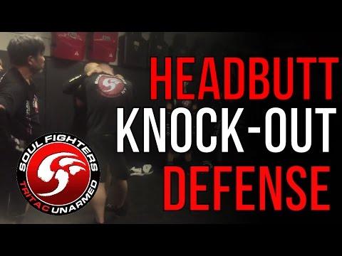 Headbutt KNOCK-OUT Defense - TRITAC-Unarmed Class