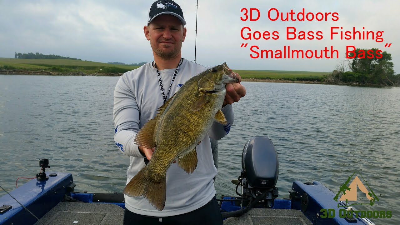 3d outdoors goes bass fishing today smallmouth bass for Bass fishing 3d