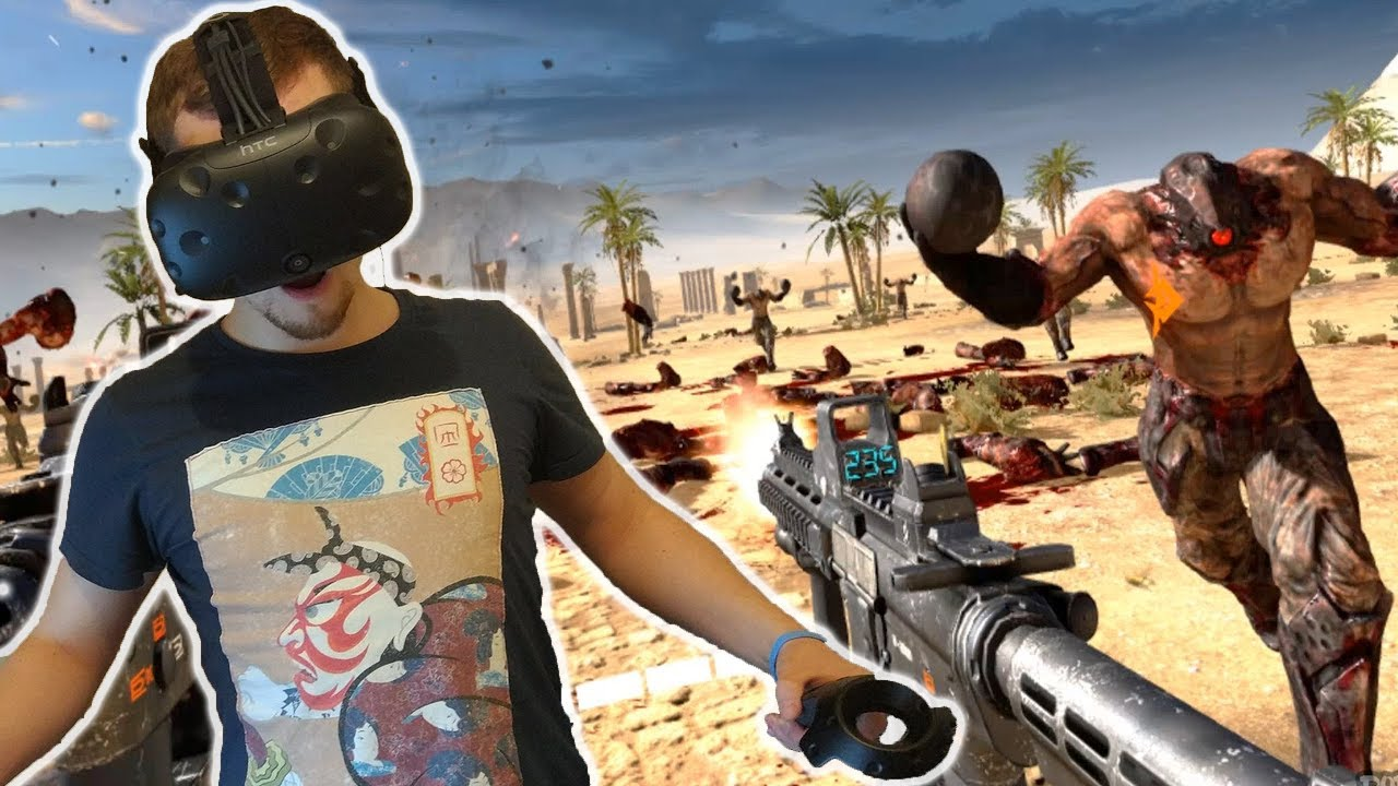 Download #1 САМЫЙ КРУТОЙ СЭМ!! Serious Sam VR: The Last Hope ВИРТУАЛЬНАЯ РЕАЛЬНОСТЬ [HTC VIVE VR] (2K)