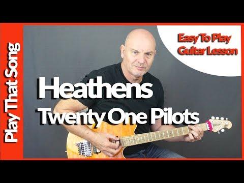 How To Play - Heathens - Twenty One Pilots - Easy Guitar Tutorial