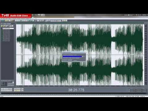 This is how to audio editing with Cool Edit Pro - creating a Long MIX from several songs