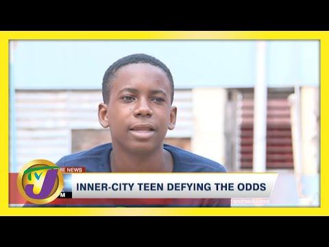 Jamaican Inner-city Teen Defying the Odds   TVJ News