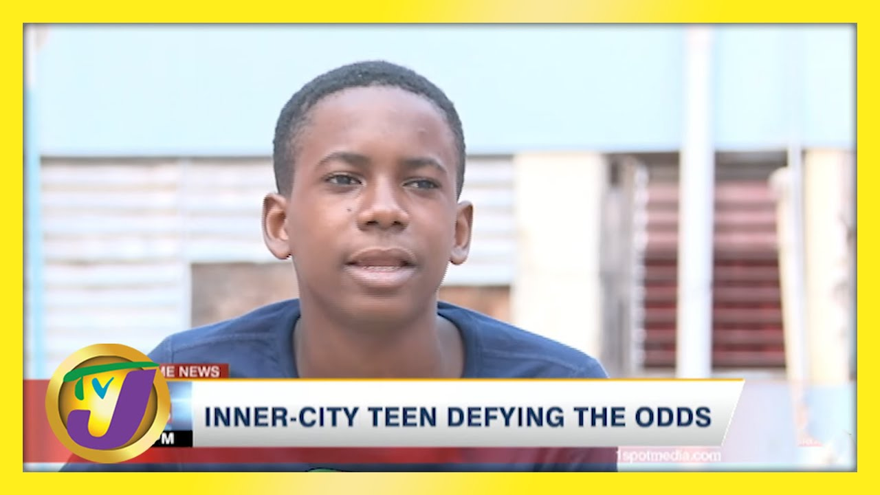 Jamaican Inner-city Teen Defying the Odds | TVJ News - April 26 2021