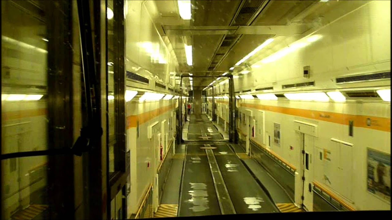 Bus On Train In Chunnel - Youtube-3501
