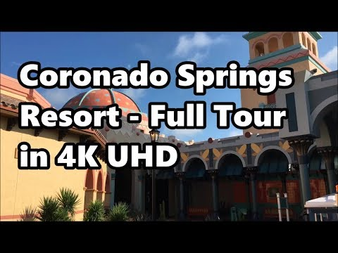 Disney's Coronado Springs Resort | Full Tour 2017 in 4K UHD | Walt Disney World