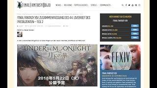 Final Fantasy XIV: Zusammenfassung des 44. Livebrief des Produzenten – Teil 2