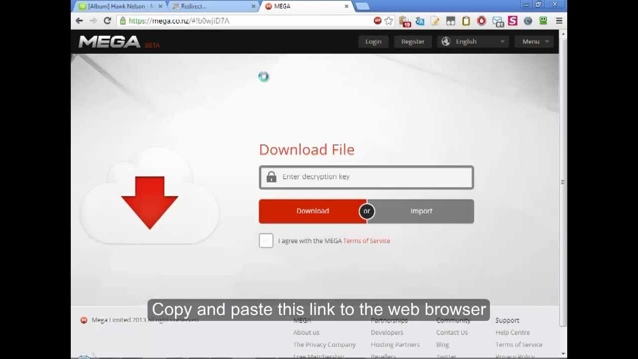 How to download from Mega.Co.Nz [cojhot.info] - YouTube