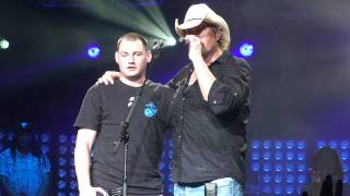 "Toby Keith Virginia Beach ""American Warrior""-"