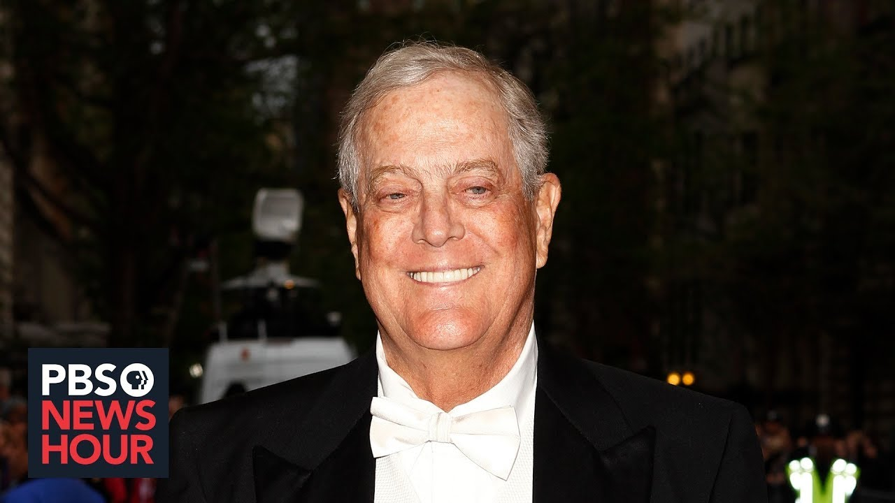 How David Koch and His Brother Shaped American Politics