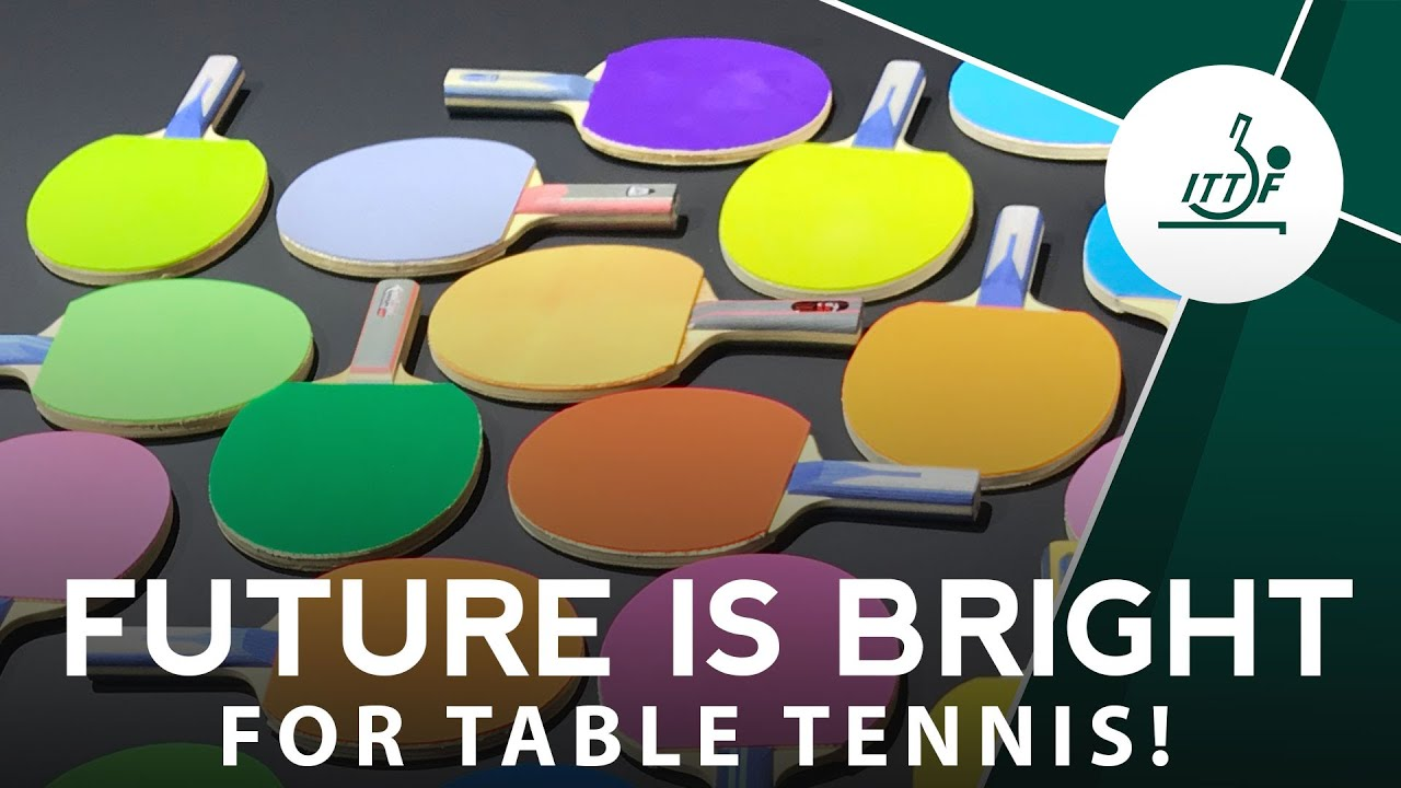Download New Colours for Table Tennis Rackets in 2021!