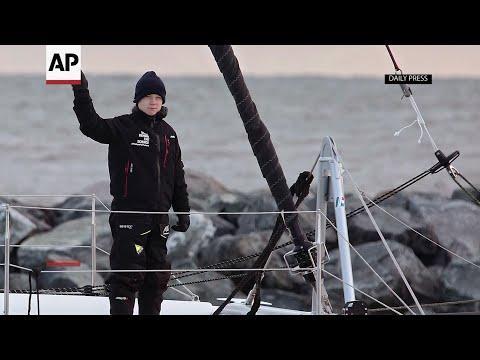 Associated Press: Greta hitches low-carbon ride across Atlantic
