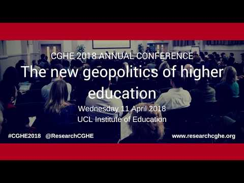 The new geopolitics of higher education