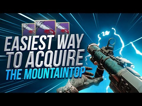EASIEST Way To Get Mountaintop Pinnacle Reward! Destiny 2 Full Guide! thumbnail