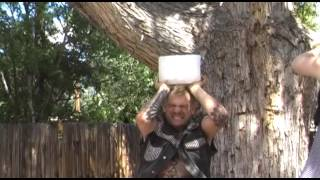Drew Blood of the Pickled Punk Sideshow does ALS #icebucketchallenge SIDESHOW STYLE