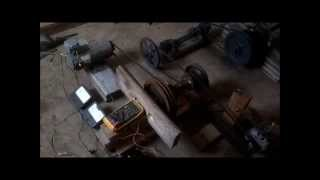 Water Wheel Electrical Generation Pt4