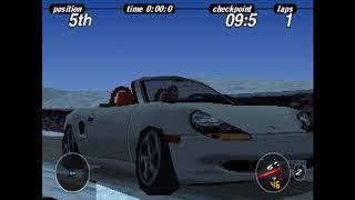 Porsche Challenge Gameplay