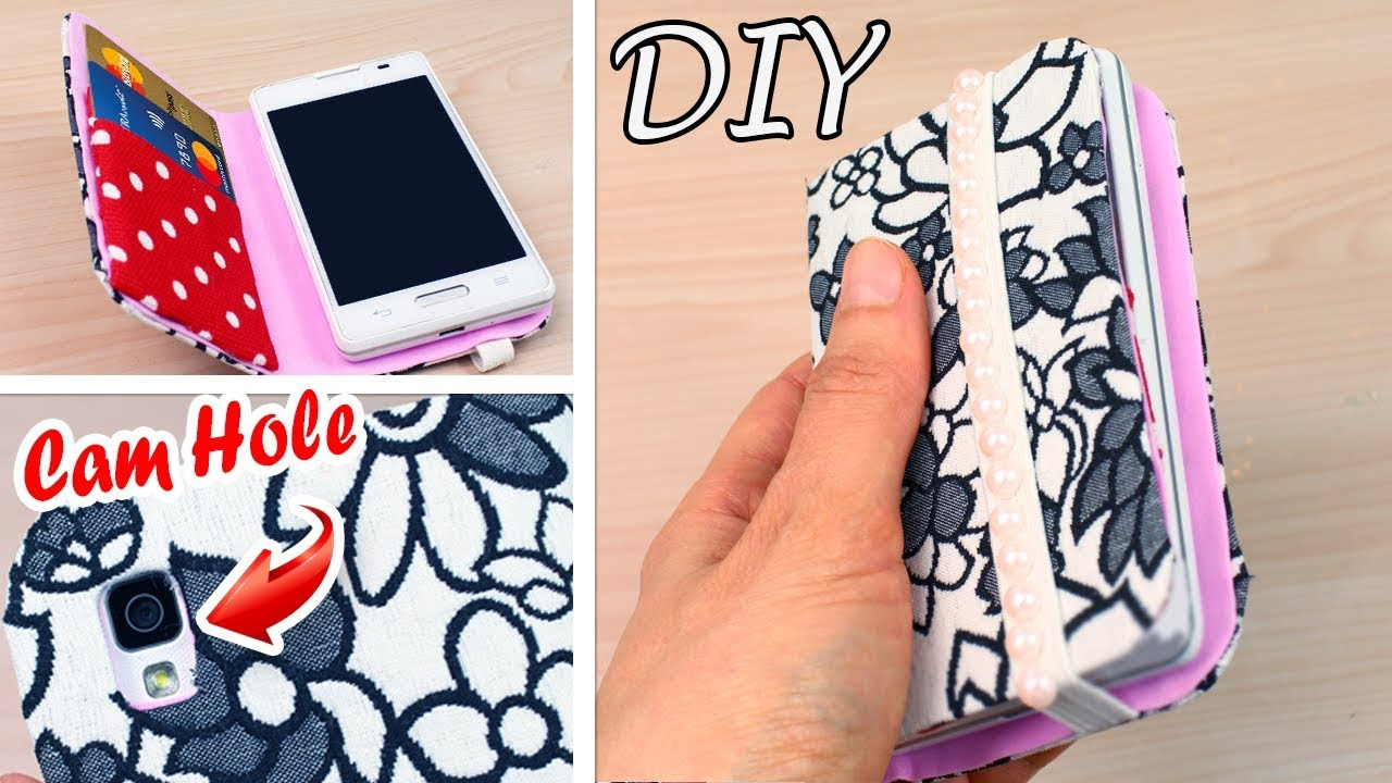 on sale e16b8 6cc42 DIY Flip Phone Tutorial Case Easy Way to Make with Credit Cards Holder