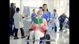 Sarita Carreon for Vonage Pinoy Care TVC