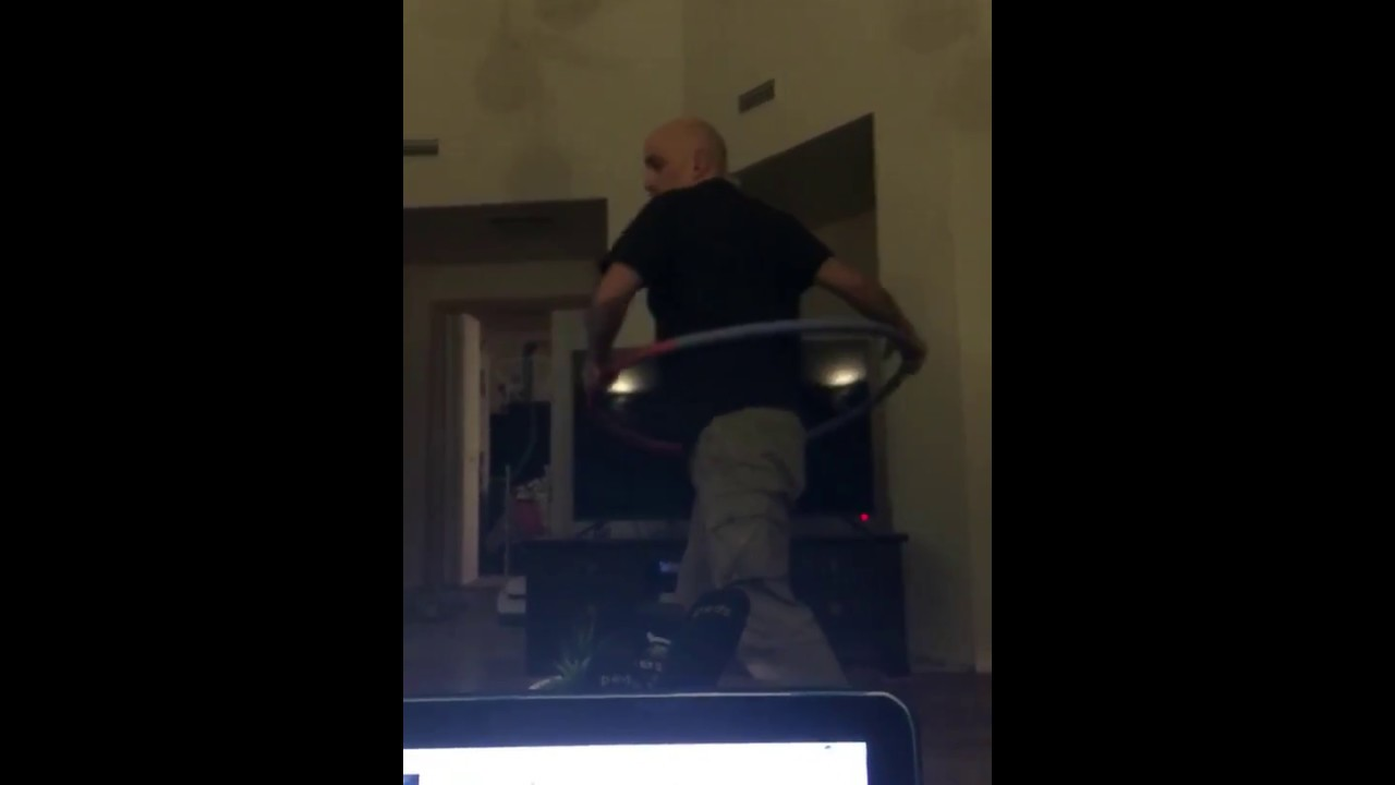Funny Video: Weighted Hula Hoop Fail