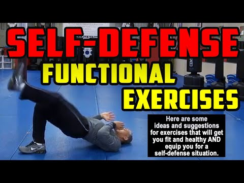 Functional Exercises for Self Defense with Your Mount Laurel Martial Arts Guy