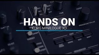 Korg Minilogue XD – First Look