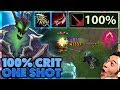 THIS NEW RUNE IS INSANE | CRAZY ONE SHOTS | 100% CRIT THRESH - BunnyFuFuu