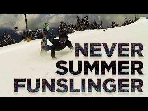 Never Summer Funslinger Snowboard Review - Board Insiders - 2016 Never Summer Funslinger Review streaming vf